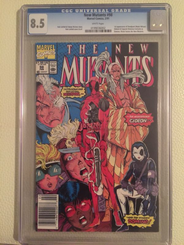 Buy Cheap New Mutants 98 Cgc 8 5 White Pages 1st Deadpool